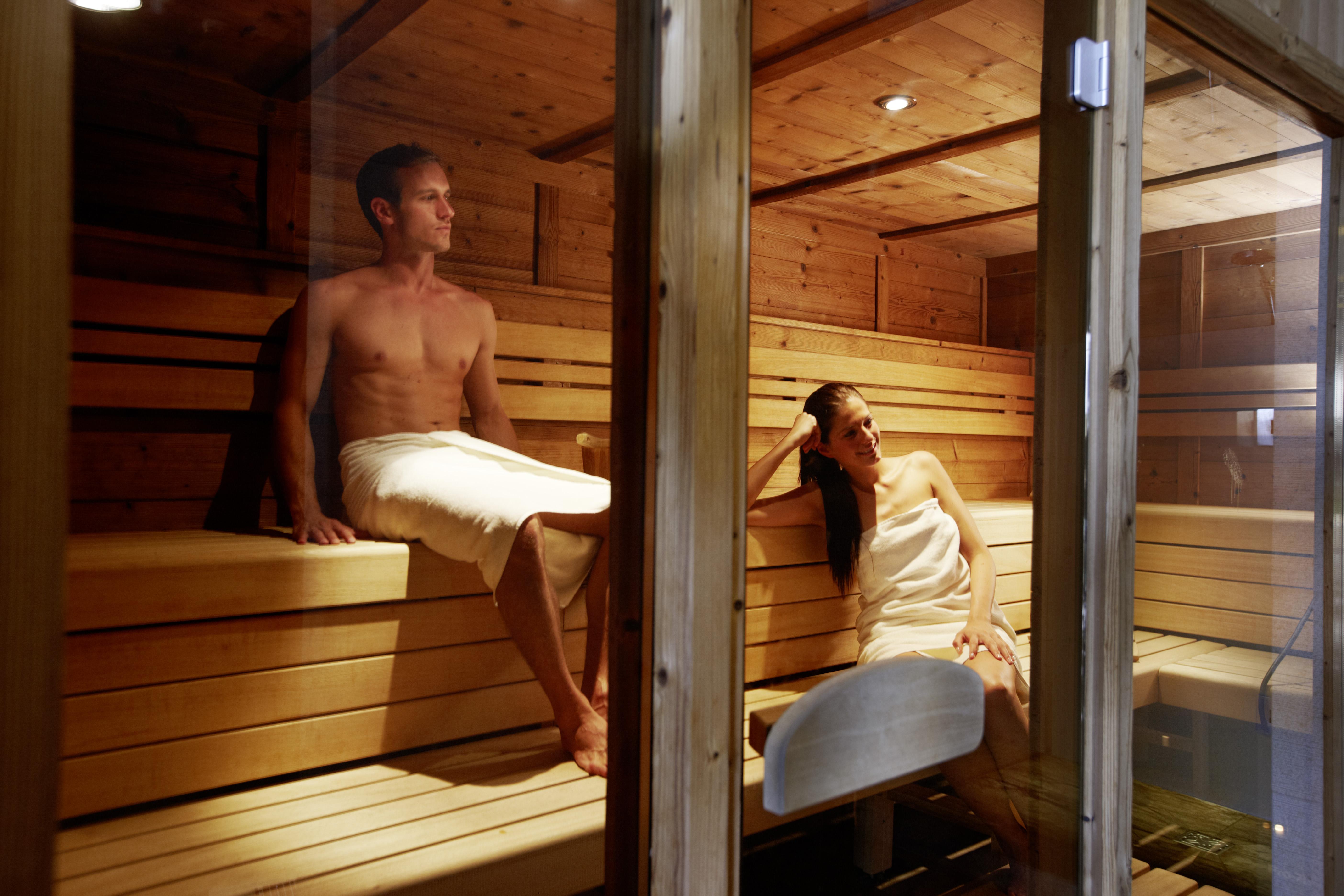 Sauna + Dampfbad